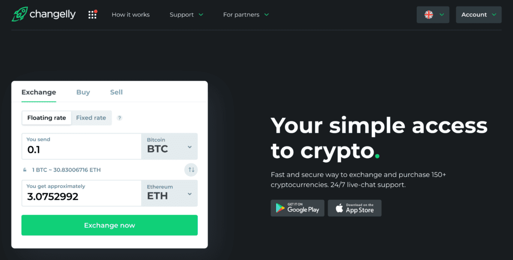 How to buy Ethereum with Changelly